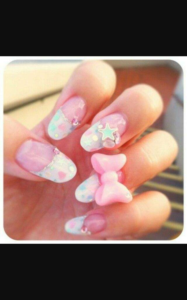 Cute Kawaii nail art | Kawaii Amino Amino