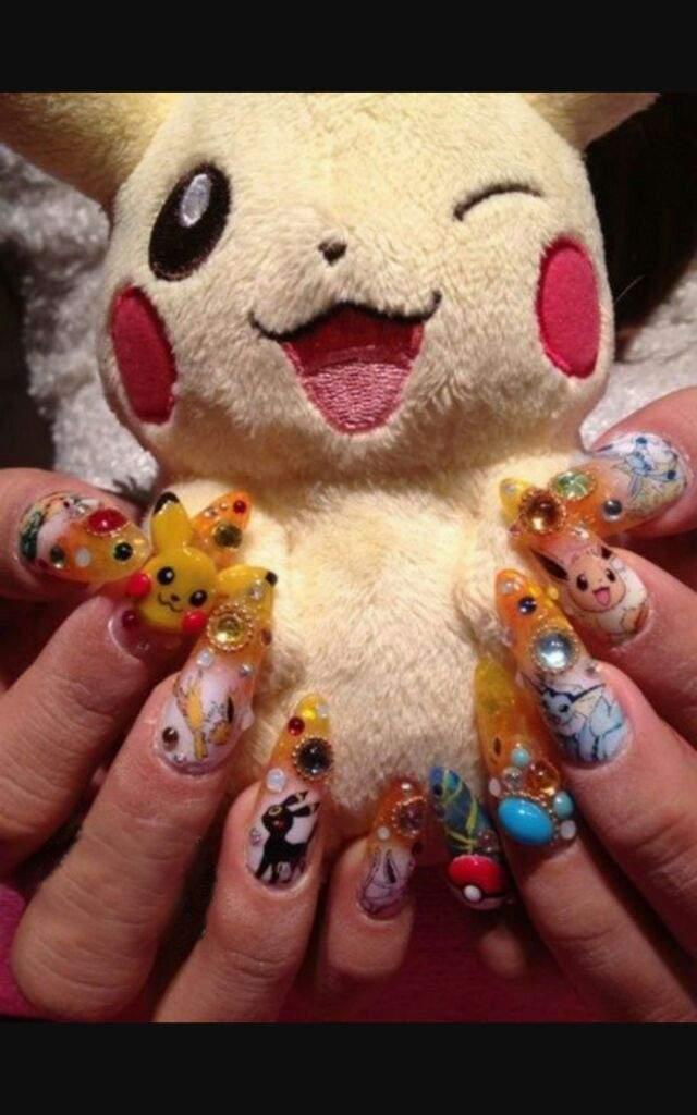 Cute Kawaii nail art   Kawaii Amino Amino