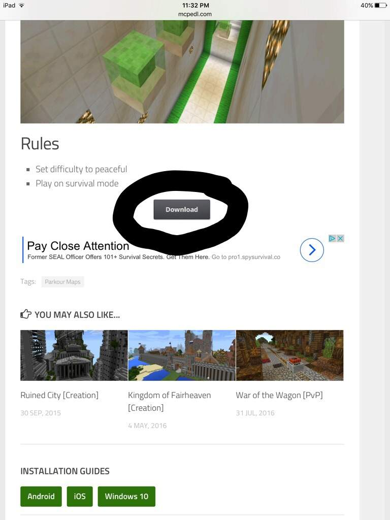 How to: Download a McWorld Zip File! | Minecraft Amino