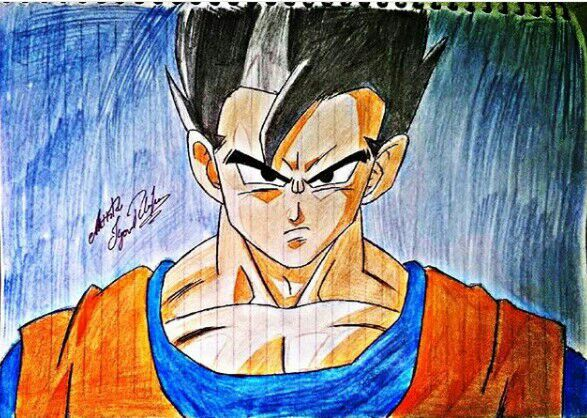 My Drawing Gohan Dragon Ball Super Curatorewien Dragonballz Amino