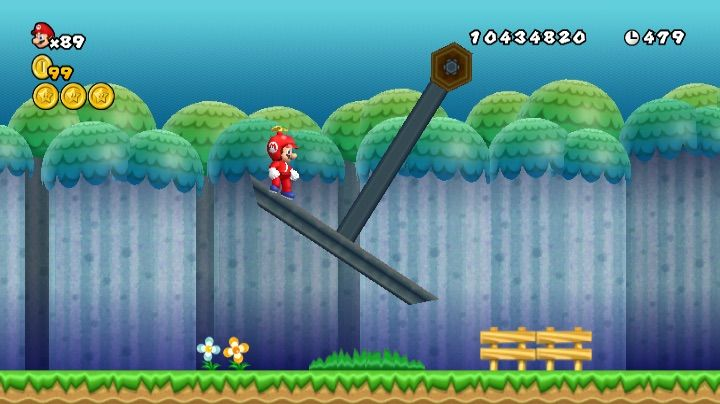 Beta Elements And Unused Features In New Super Mario Bros Wii Part