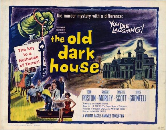 the old dark house 1963 location
