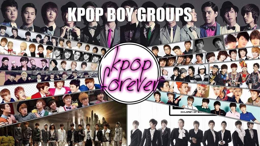 Kpop Group: Fandoms Names And Colors (Boy Groups)