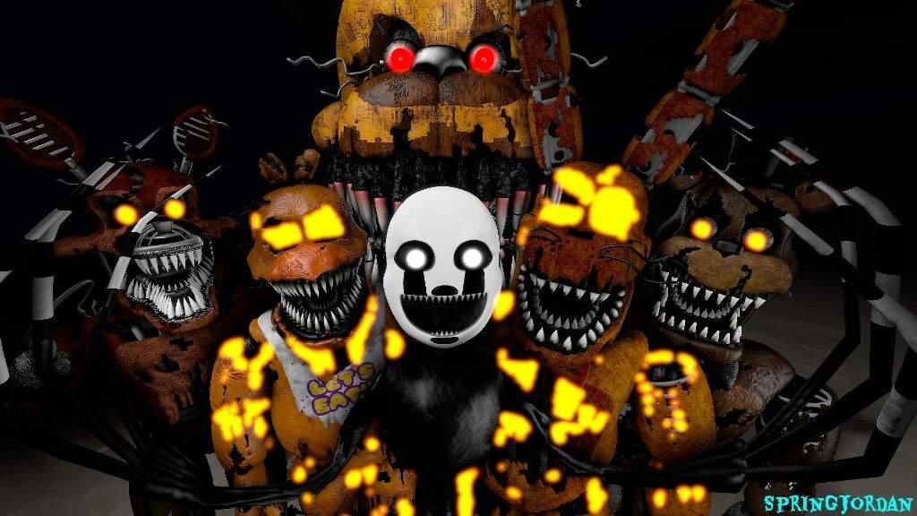 FNaF 4 Halloween Characters | Five Nights At Freddy's Amino