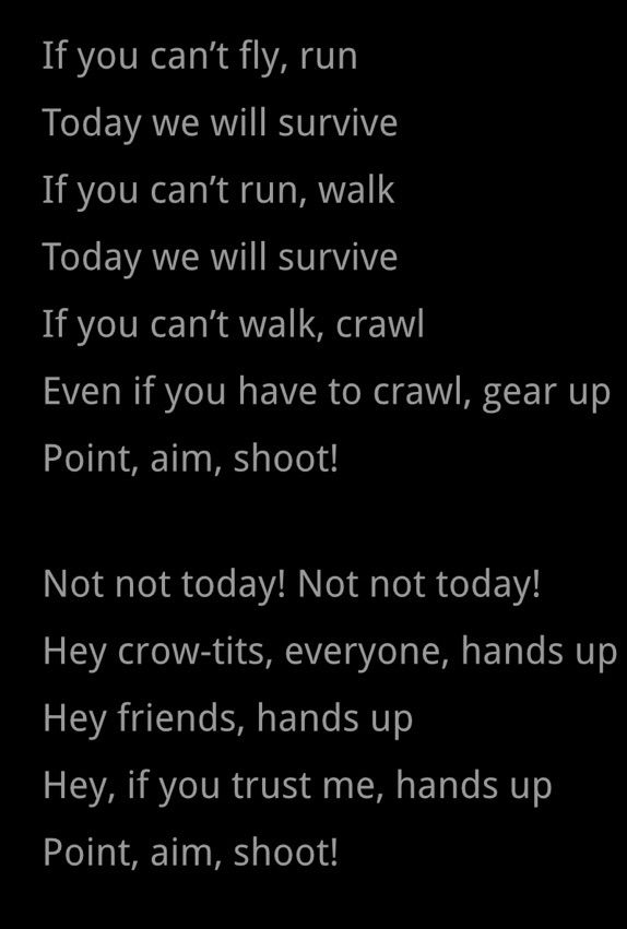 Not Today Lyrics from MLK Jr. | ARMY's Amino