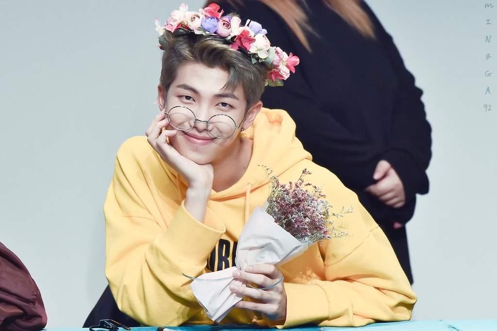 Bts In Flower Crowns K Pop Amino
