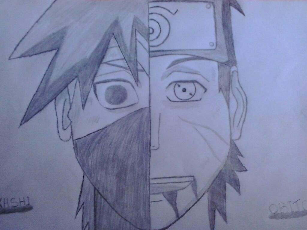 Kakashi E Obito Naruto Shippuden Online Amino
