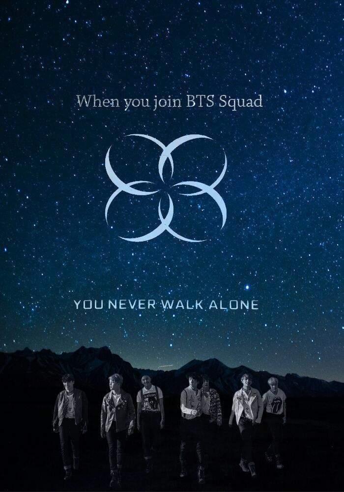 Lyric lyrics you ll never walk alone : BTS
