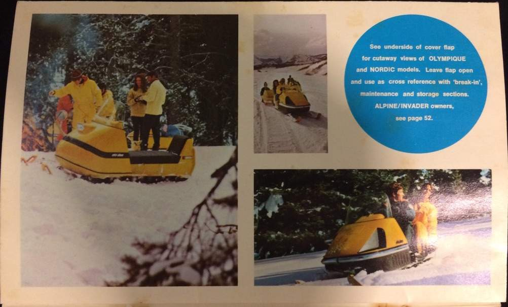 Retro Ski Doo Owner S Manual Garage Amino
