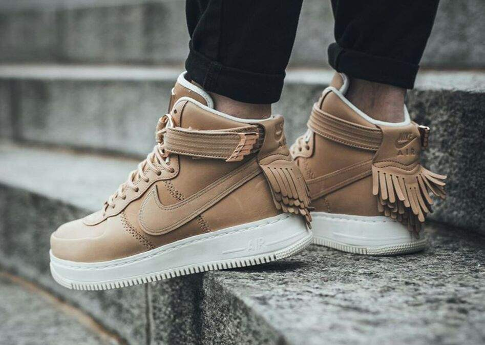 Force Sport Tan Air Nike High Lux Vachetta 1 CrWBedxo