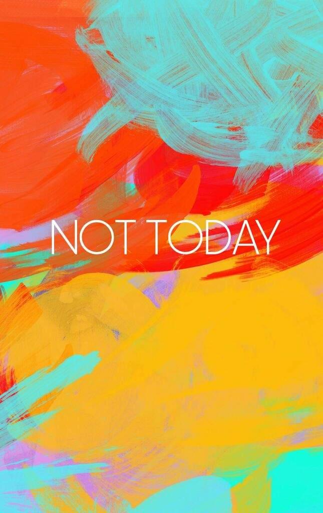 Wallpaper Bts Not Today Hd