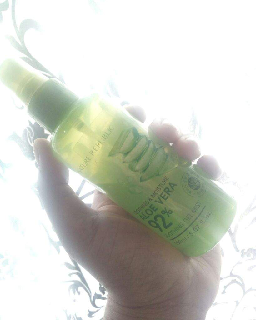 Review Nature Republic Aloe Vera 92 Soothing Gel Mist Korean
