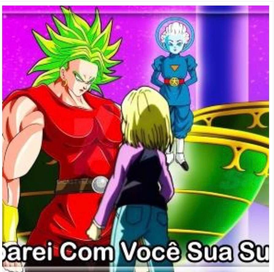 Votes Dragon Ball Super Female Broly Vs Android 18 Dragonballz