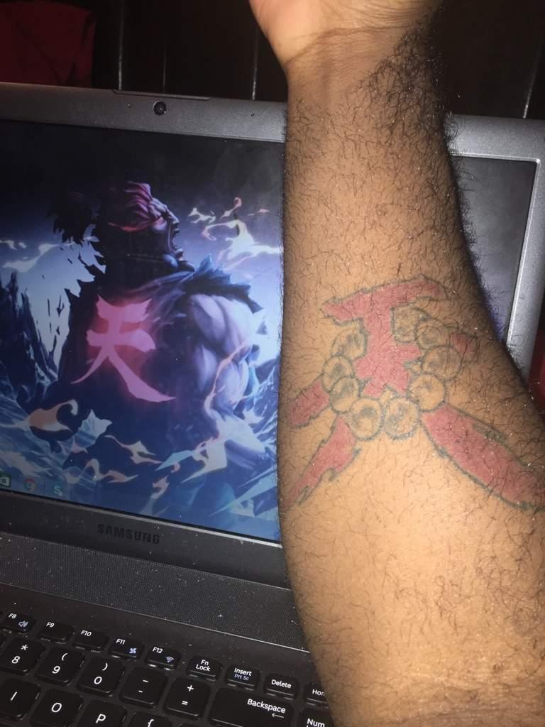 Akuma Tattoo Street Fighter Amino