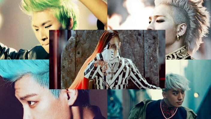 Best Hairstyles of Bigbang