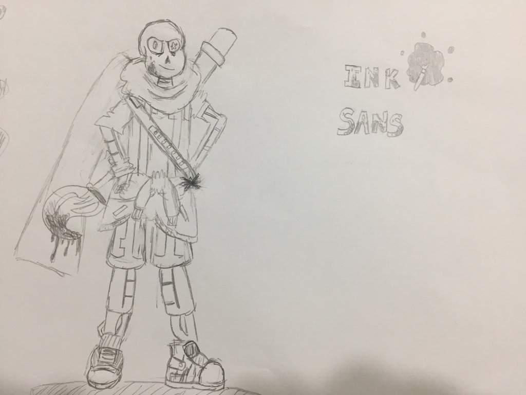 Ink Sans 10 Minute Draw Challenge! (•~•)/ | Undertale Amino