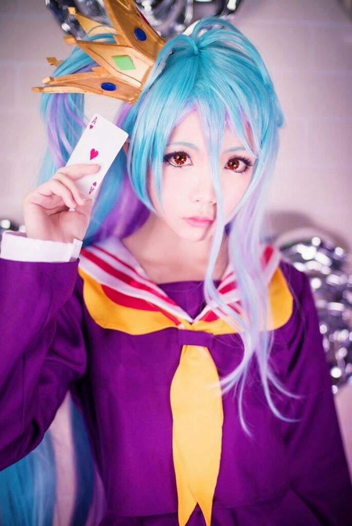 game life cosplay no Shiro no