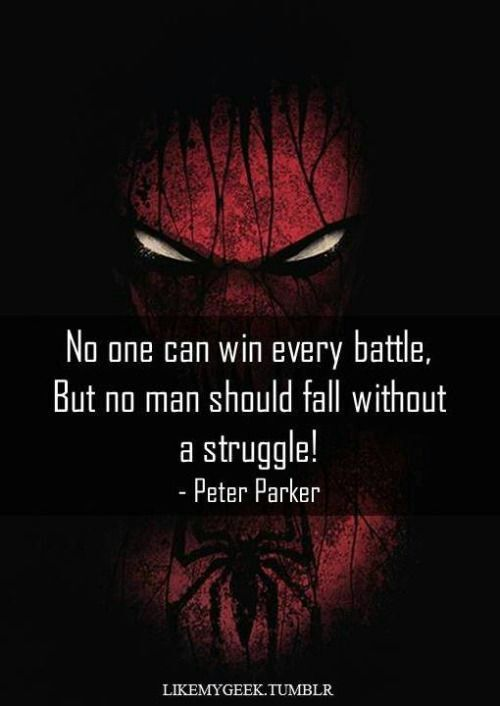 Spiderman Love Quotes Impressive Top 48 Best Spiderman Quotes Comics Amino