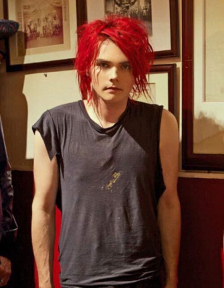 Gerard Way Natural Hair Color Imagenesmy