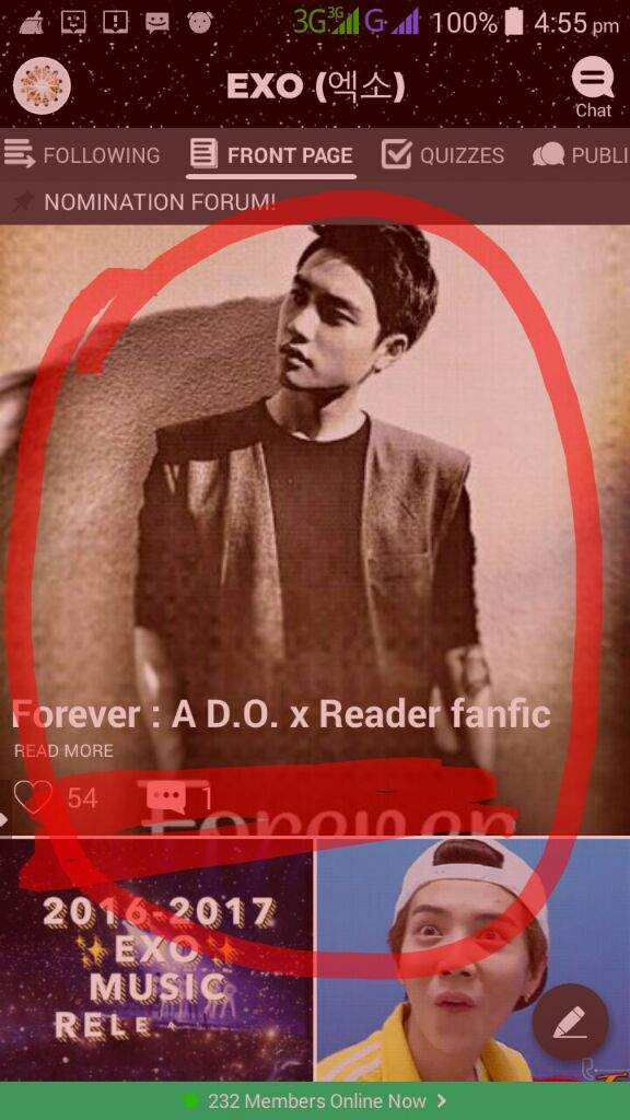 Forever : A D O  x Reader fanfic   EXO (엑소) Amino