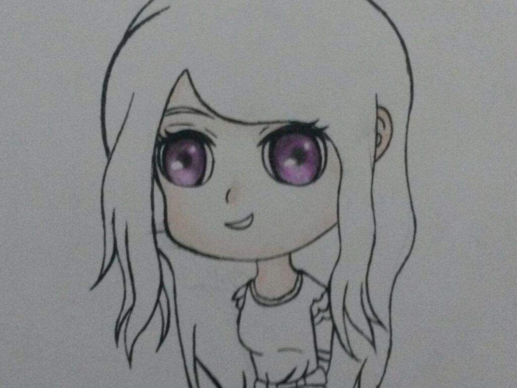 Tokyo Ghoul Dibujos Para Colorear: DIBUJO DE RIZE CHIBI (TUTORIAL)