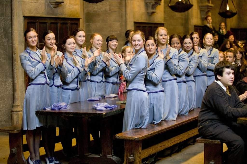Ginny Weasley in Beauxbatons | Harry Potter Amino