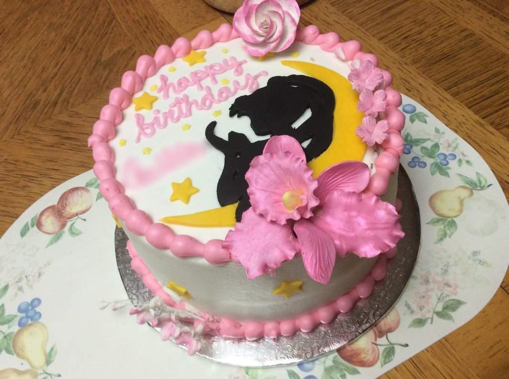 Admirable Sailor Moon Birthday Cake Sailor Moon Amino Personalised Birthday Cards Paralily Jamesorg
