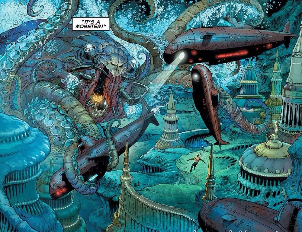 aqua mans aquamans marine telepathy comics amino