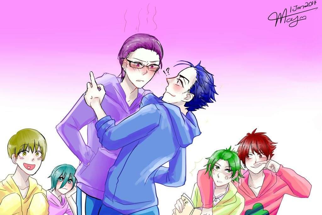 Rainbow Guys Headcanons   Yandere Simulator Amino