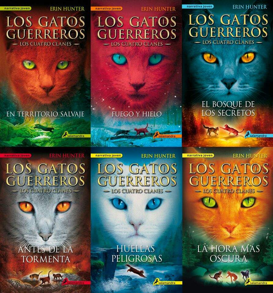 By Erin Hunter Warriors App: Warrior Cats (Libros)🐈