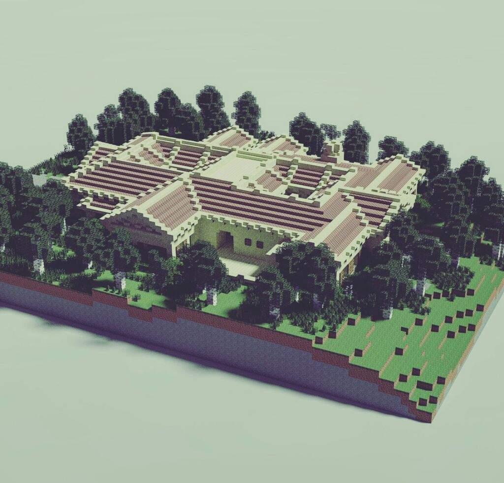 A Roman Villa Minecraft Amino
