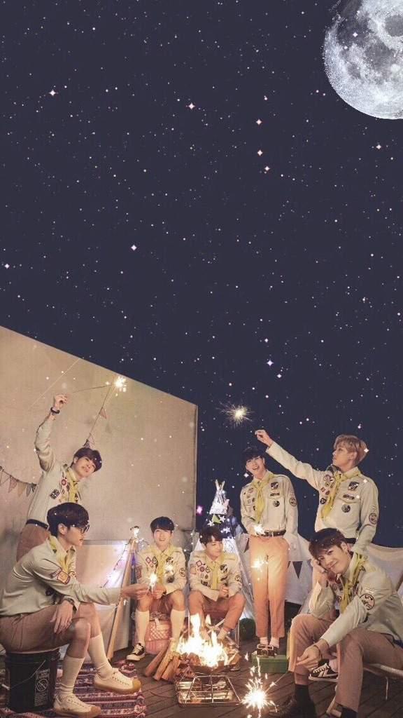 GOT7s We Under The Moonlight Wallpaper