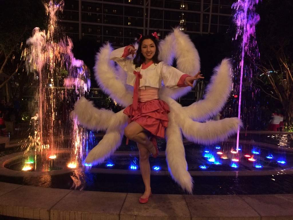 Lightweight Ahri Tails Complete Tutorial Cosplay Amino