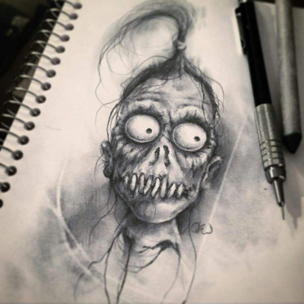 Awesome creepy drawings