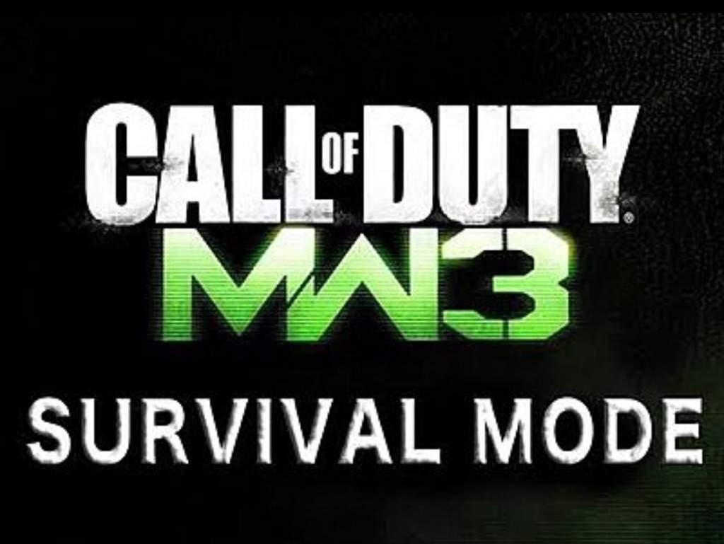 Mw3 Survival Mode Wiki Call Of Dutynazi Zombies Amino
