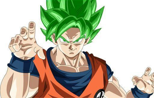 Goku ssj dios verde  DRAGON BALL ESPAOL Amino