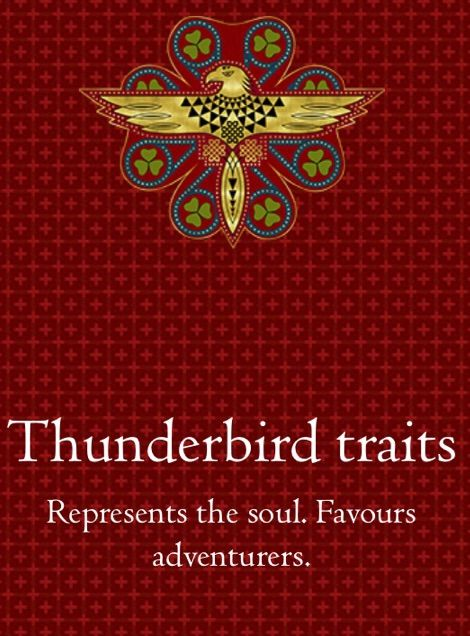 Chadwick Boot Named The Ilvermorny House Thunderbird After His Favourite  Magical Beast. Thunderbirds Can Create Storms When It Flies. The Thunderbird  House ...