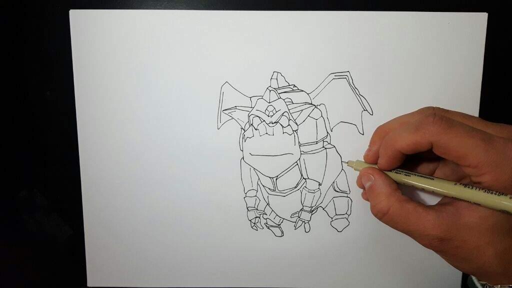 Dibujo Del Sabueso De Lava Clash Royale Amino Amino