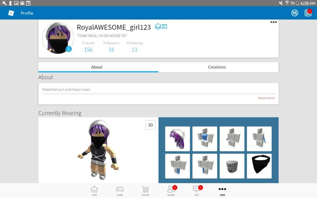 Im Team Skull In Roblox Pokémon Amino