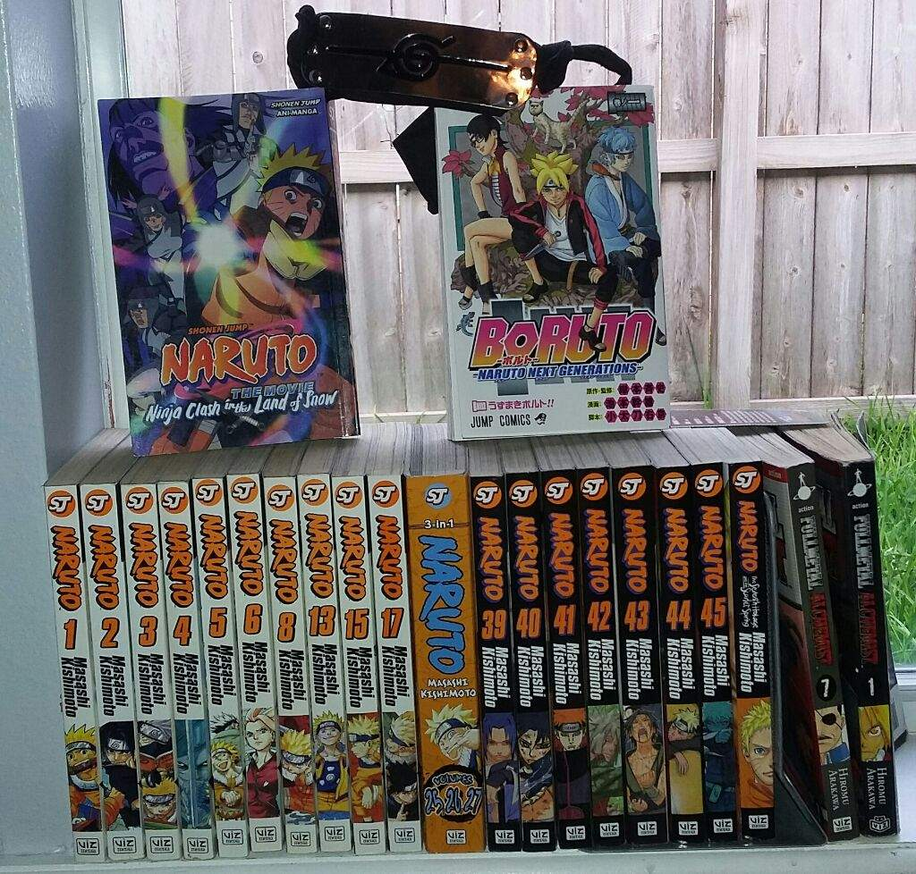 Check my manga collection naruto amino