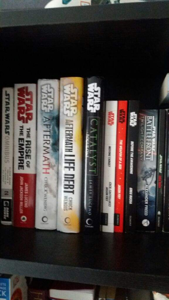 I Bought Some Books Current Book Collection Star Wars Amino