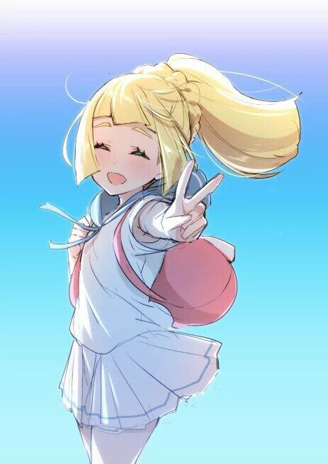 Lillie (regular) or lillie (z powered form) | Pokémon Amino