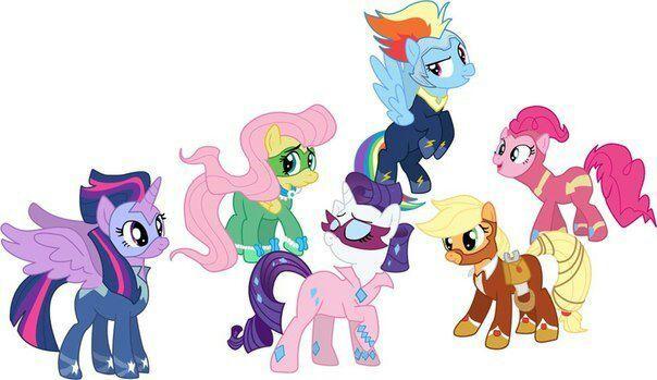 power ponies my little pony pt br amino