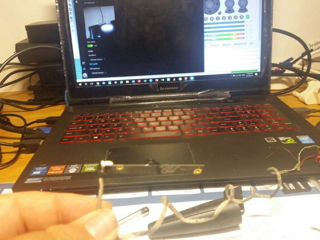 Reclaimed Laptop Webcam-Octoprint | Maker Amino