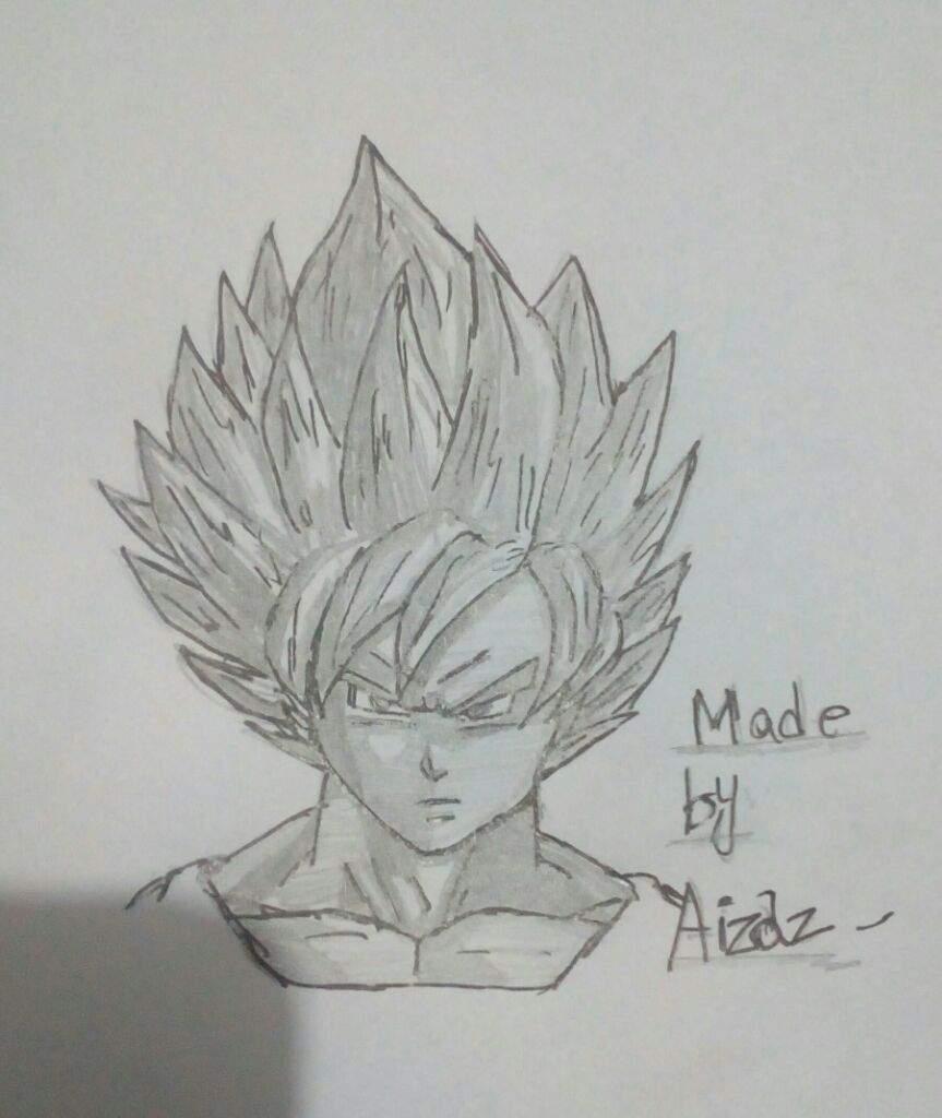 My new drawing of goku dragonballz amino