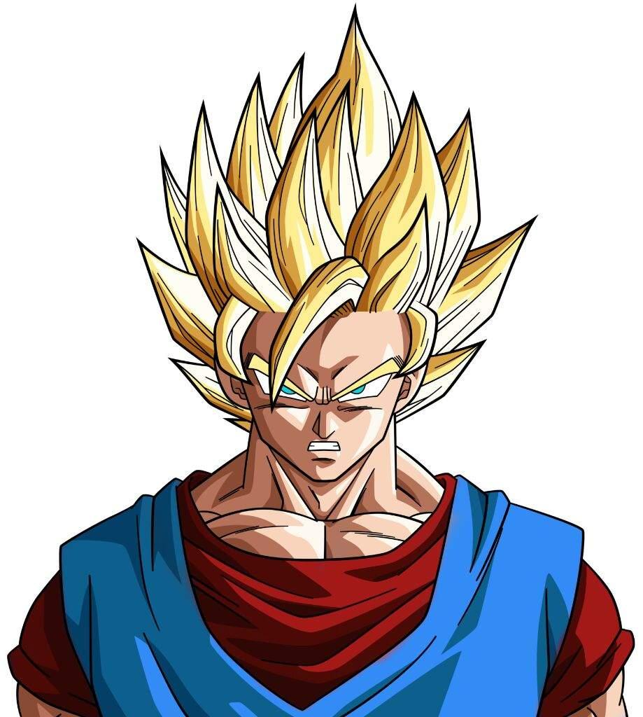 Goku alternate timeline super saiyan 2 dragonballz amino - Sangoku super sayen 2 ...
