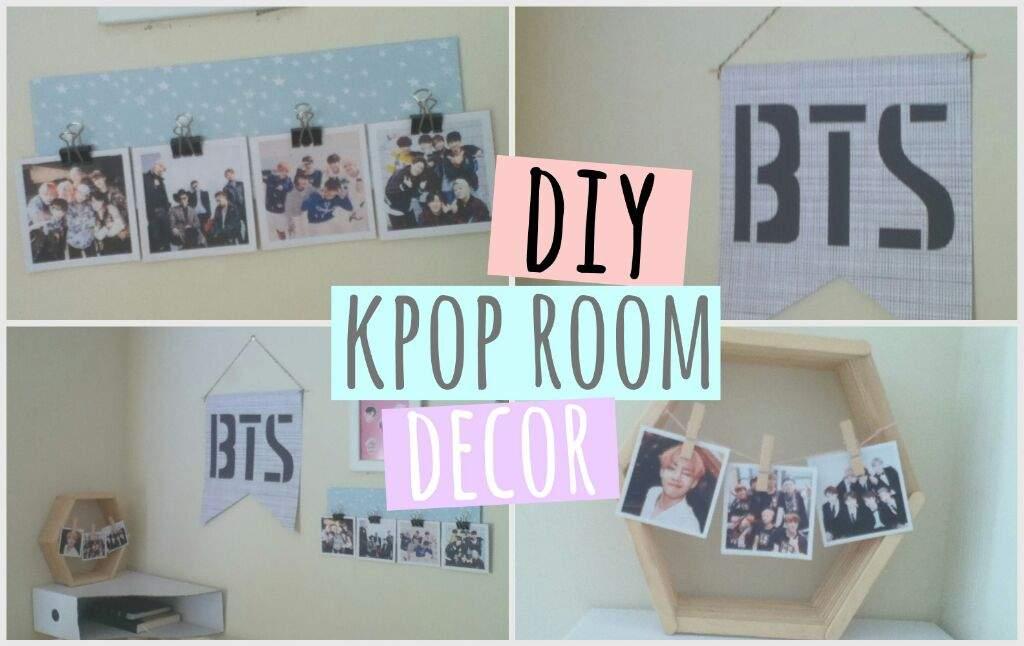 Make Your Own Kpop Diy Room Decor K Pop Amino