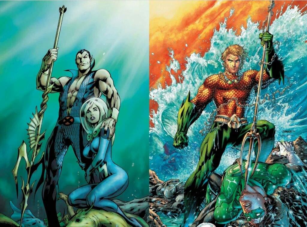 Marvel Vs Dc Heroes That Look Alike Part 1 Comics Amino