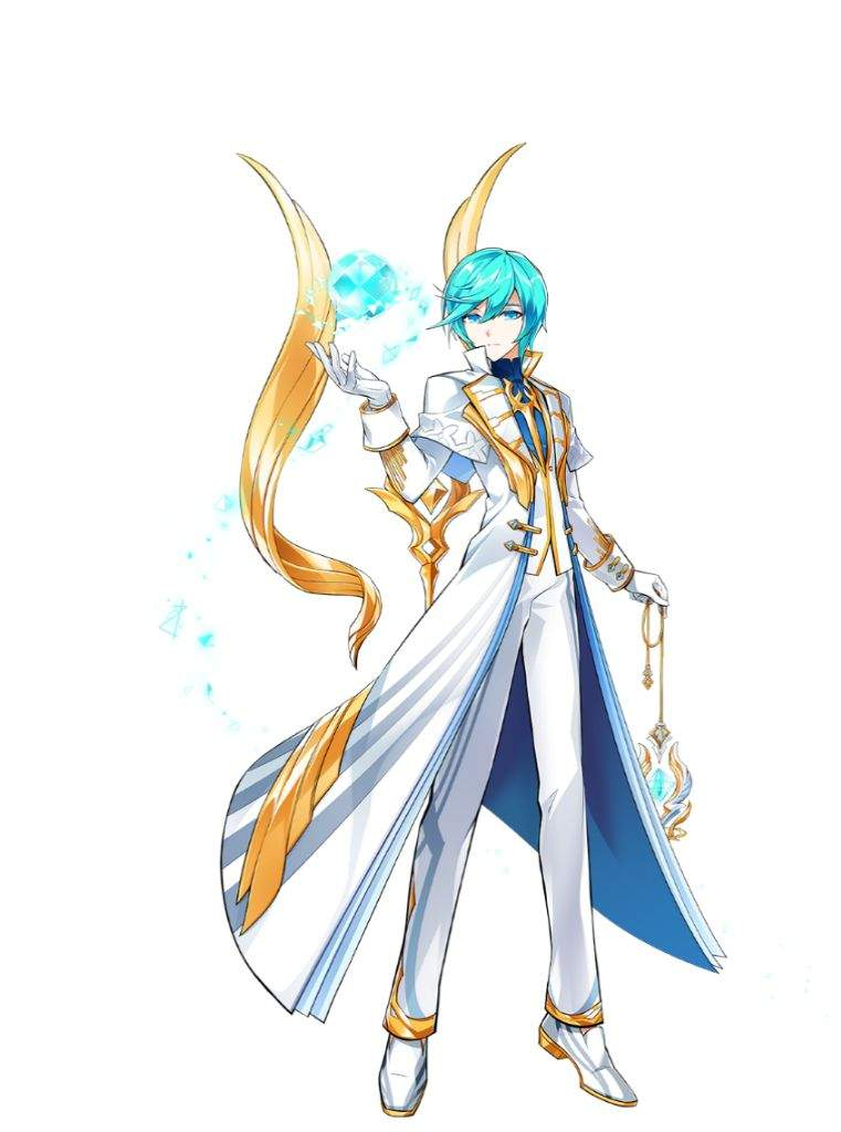 This class basically represents Ain fully focusing on his mission by  harnessing the power of the Goddess. Out of all three classes he has the  most angelic ...