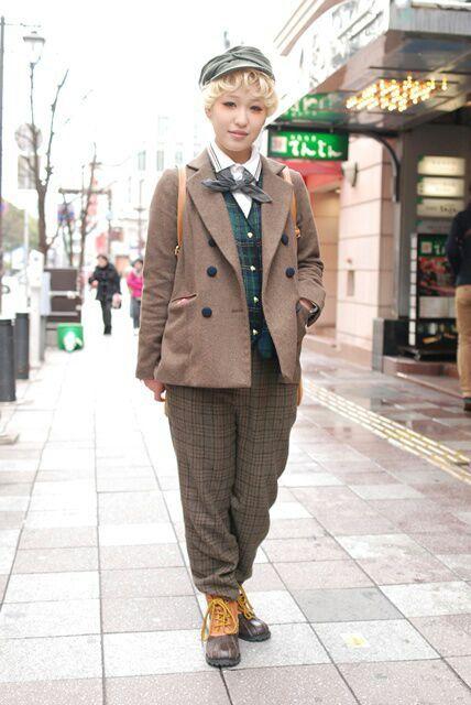 british girl style
